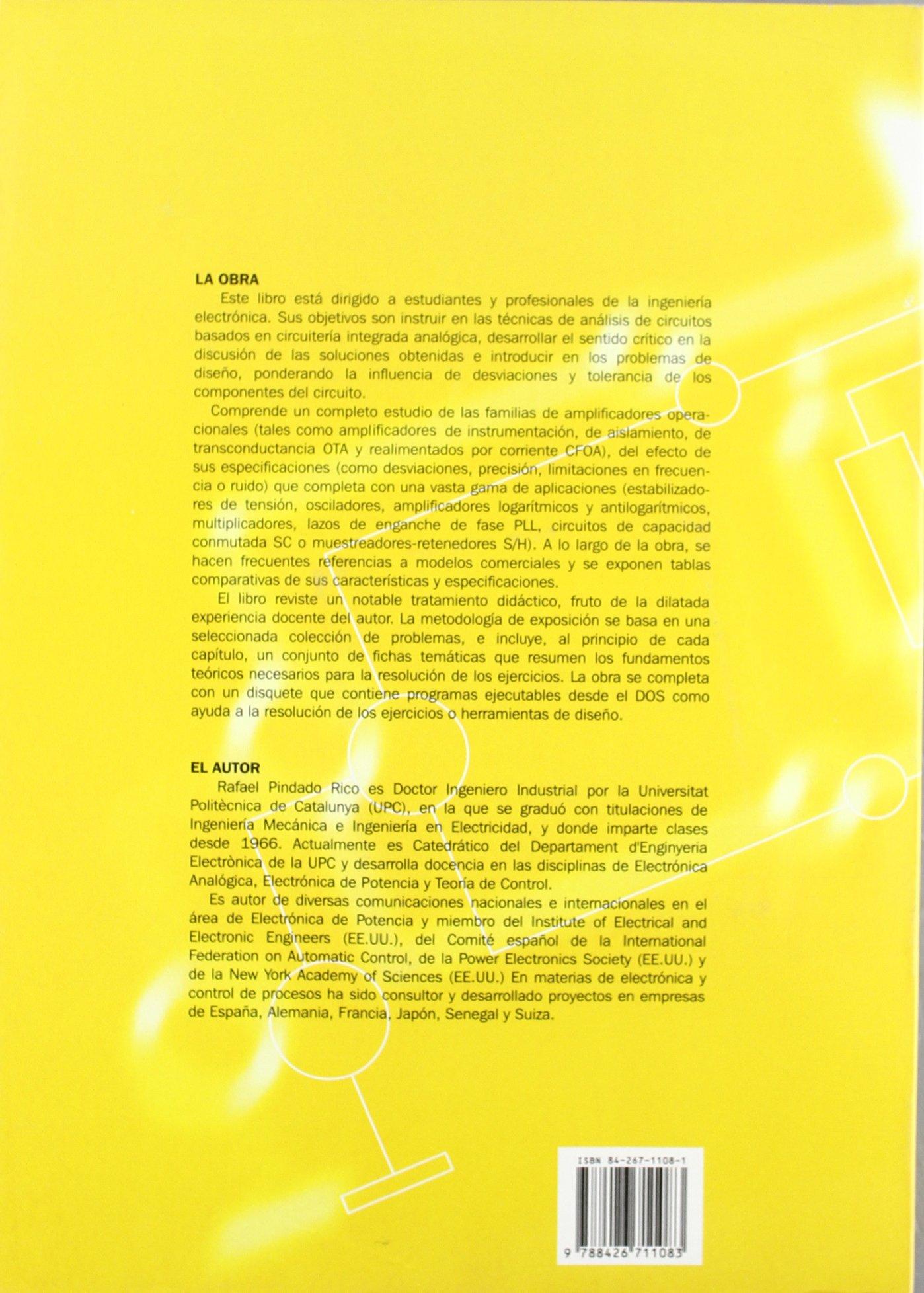 Electrónica Analógica Integrada (ACCESO RÁPIDO): Amazon.es: Rafael Pindado Rico: Libros