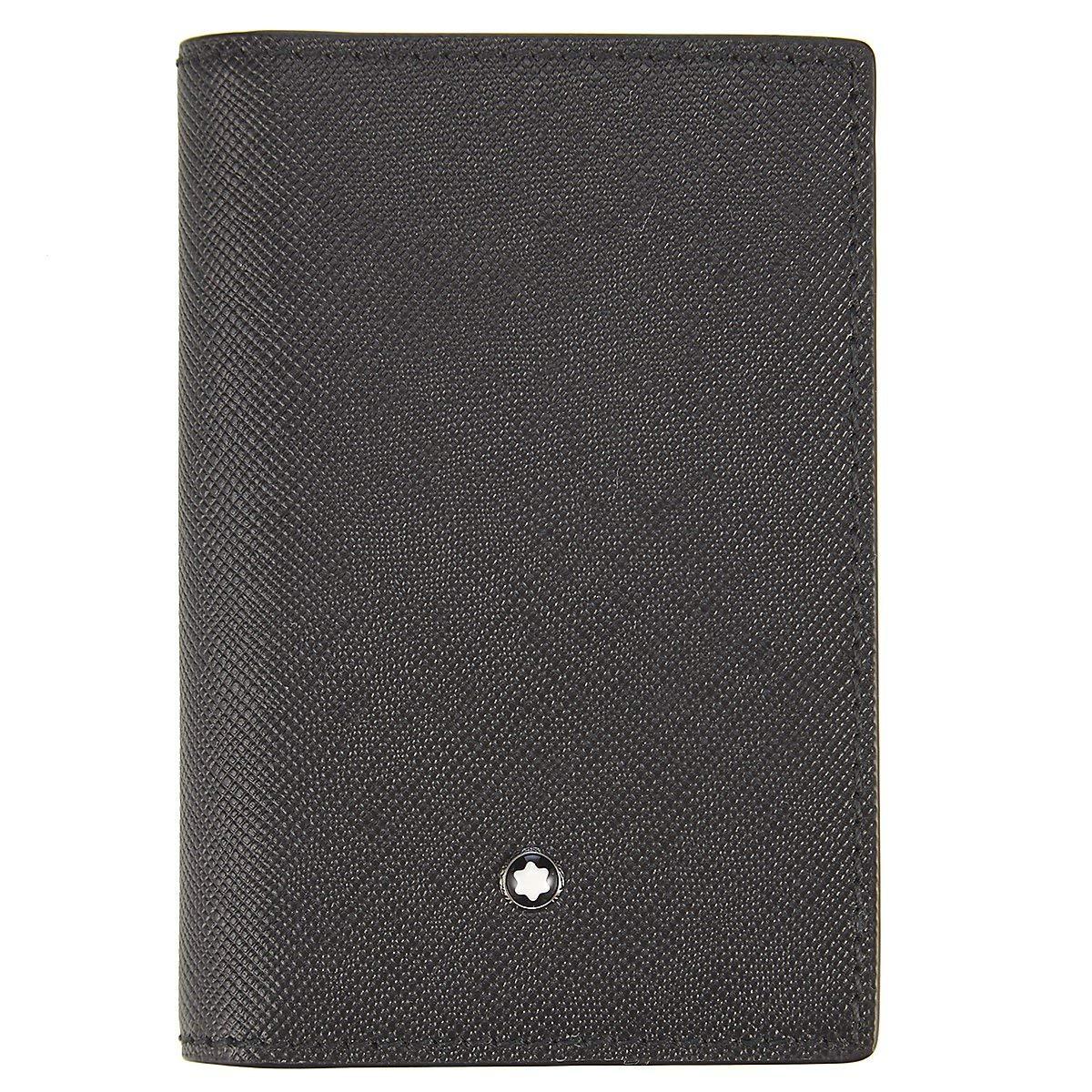 Montblanc Sartorial Men's Medium Leather Business Card Holder 113223