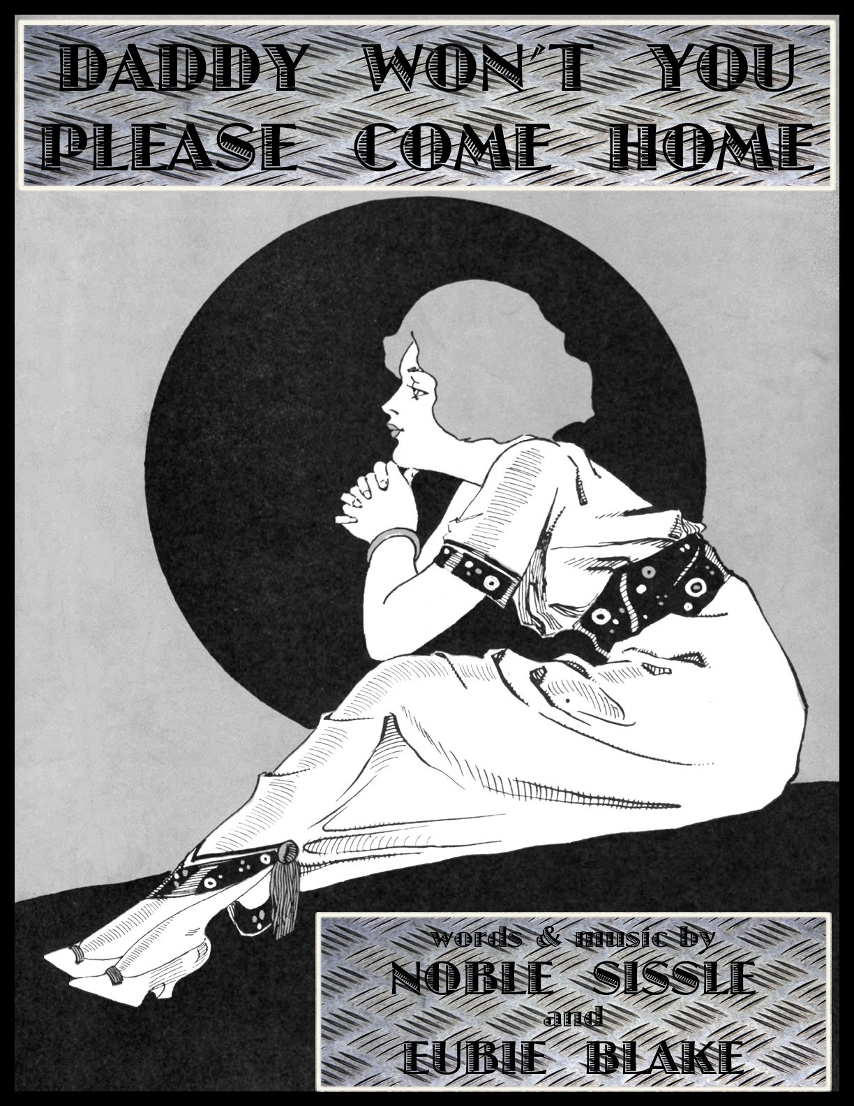 Daddy Won't You Please Come Home - song - piano/vocal: Eubie Blake, Noble  Sissle: Amazon.com: Books