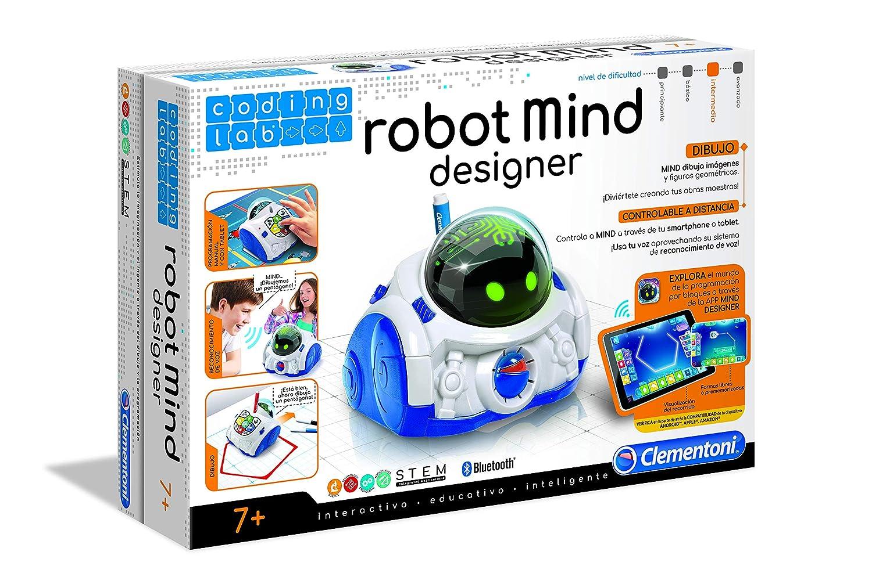 Clementoni- Mind Designer Robot, Multicolor