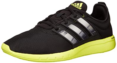 Adidas Performance Climacool Leap M Running Shoe, Core Black/black/semi  Solar Yellow