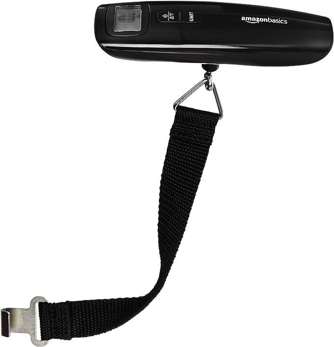 AmazonBasics - Báscula digital para equipaje: Amazon.es: Equipaje