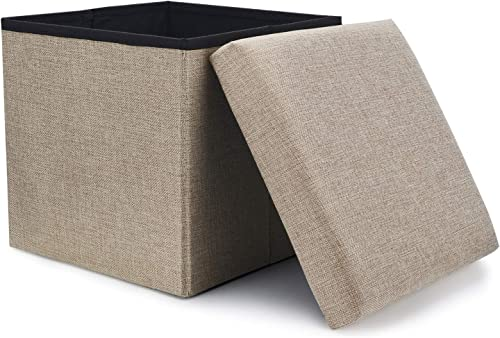WoneNice Folding Storage Ottoman