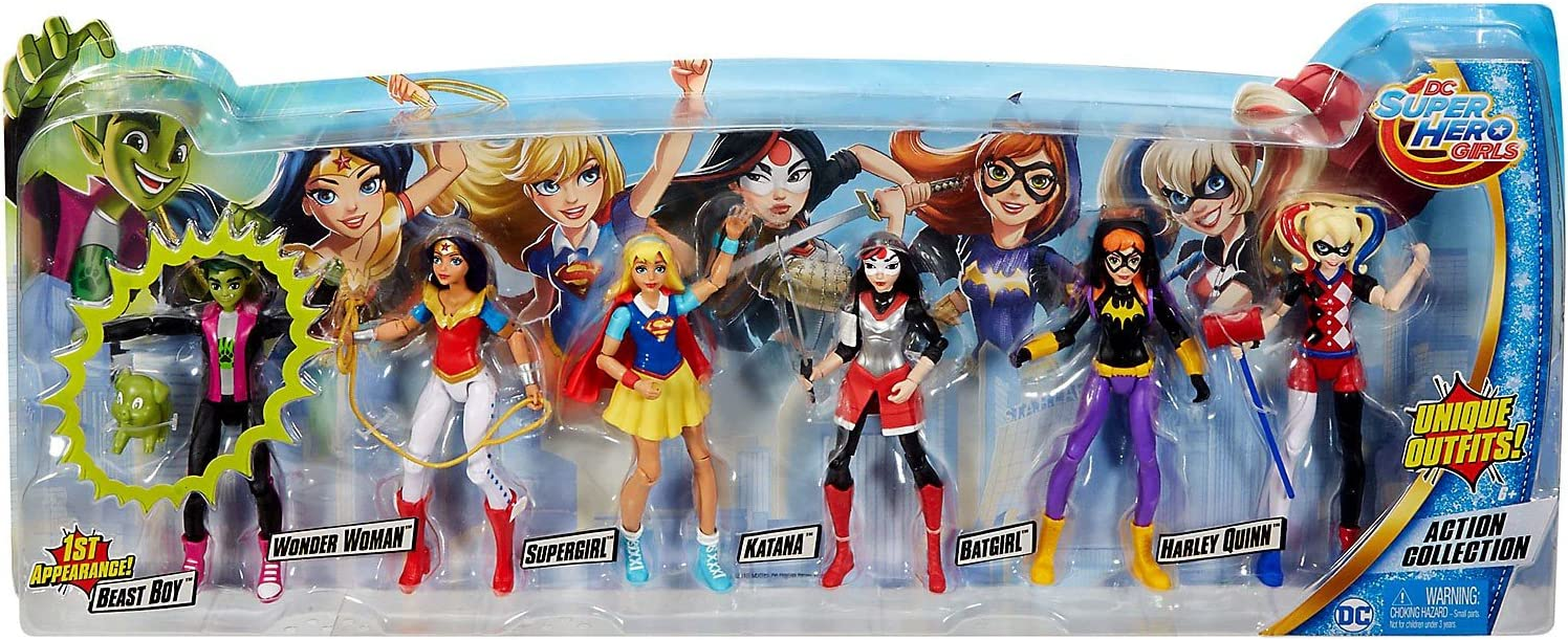 DC Super Hero Girls Mini Figures Brand New!!!