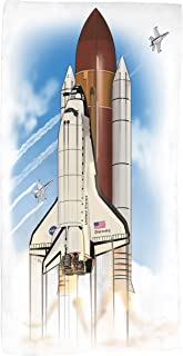 product image for Shirts That Go Space Shuttle and Chase Planes Bath and Beach Towel