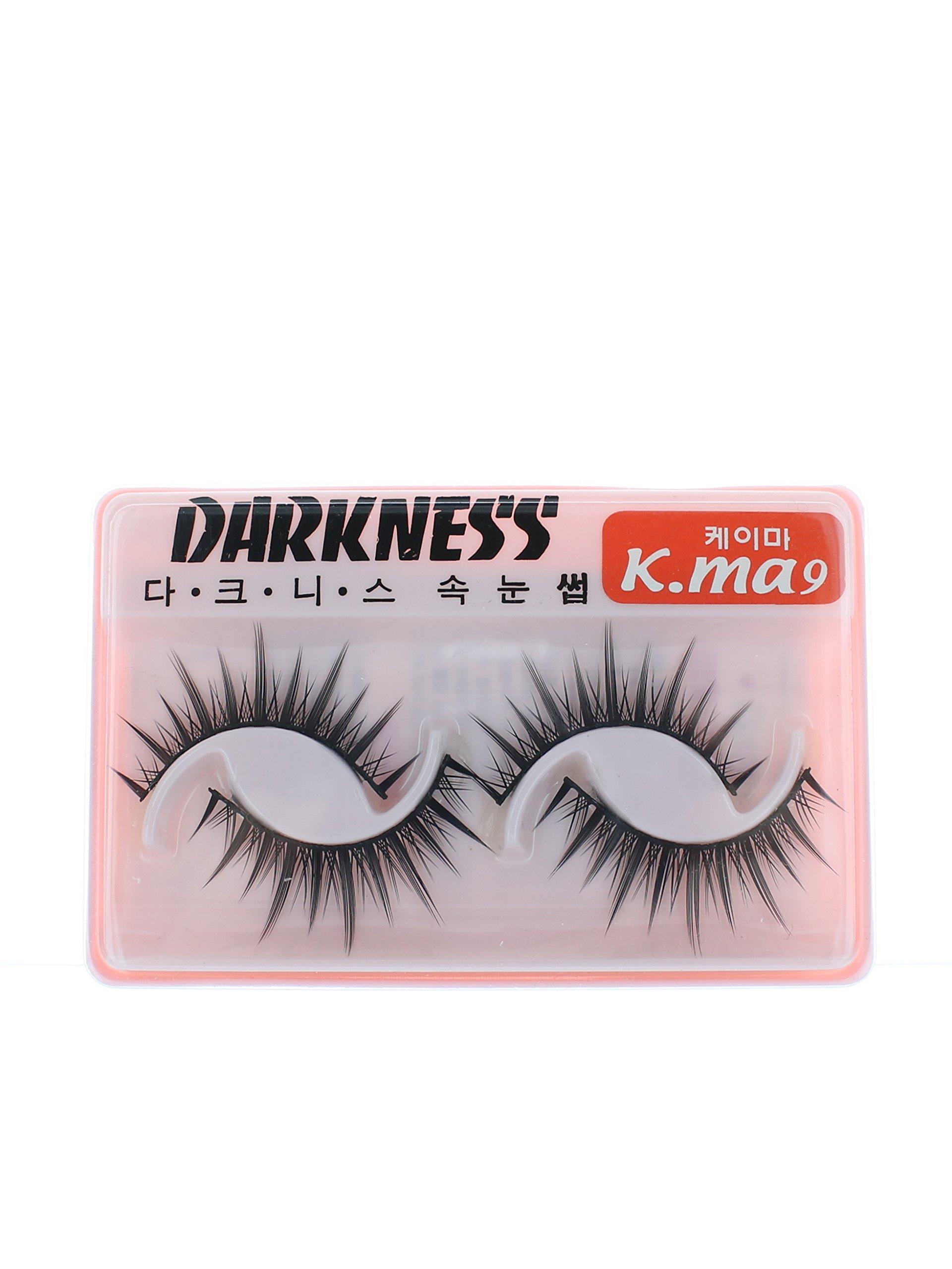 d34e03b39db Amazon.com : Darkness False Eyelashes K-Ma 9 : Fake Eyelashes And Adhesives  : Beauty