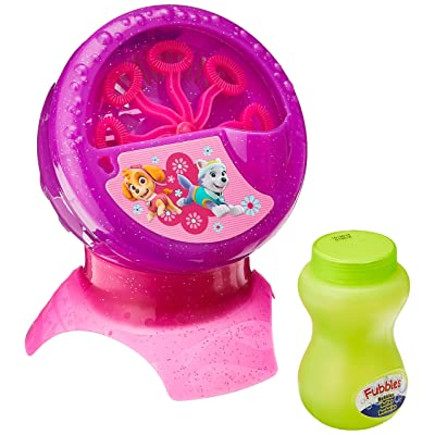 Little Kids Paw Patrol Bubble Machine: Toys & Games