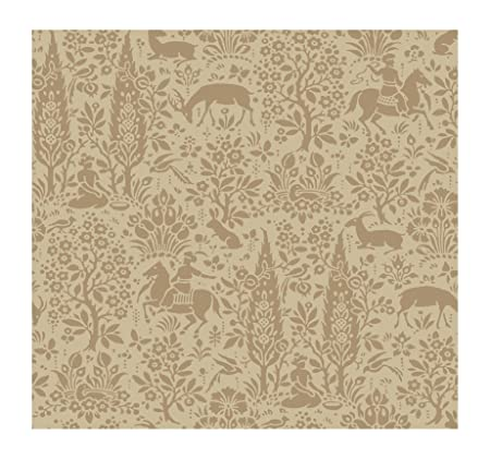 York Wallcoverings Ap7448smp Silhouettes Woodland Tapestry