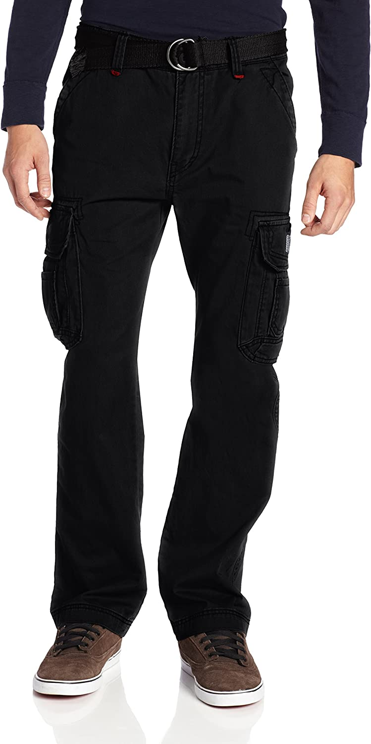 UNIONBAY Men's Survivor Iv Relaxed Fit Cargo Pant-Reg and Big and Tall Sizes: Clothing