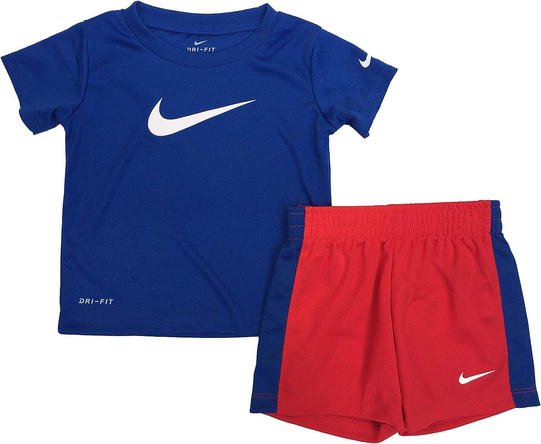 Air Jordan Set Boy/'s Shirt /& Shorts 12 18 24 Months Blue