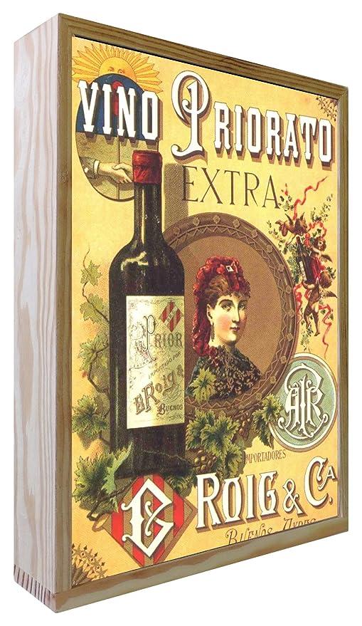 Ccretroiluminados Vino Priorato Cartel Vintage Iluminados ...