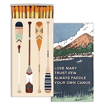 Amazon.com: Cajas decorativas para remo de tu canoa ...