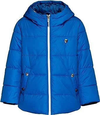 GULLIVER Chaqueta de invierno para niño, chaqueta acolchada con estampado y cremallera, longitud media, impermeable, 3 años, 4 años, 5 años