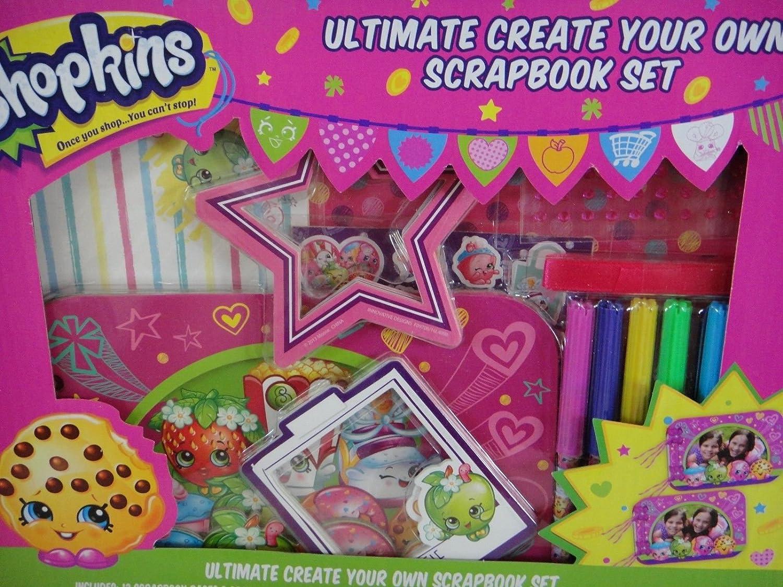 Create your own scrapbook - Amazon Com Shopkins Ultimate Create Your Own Scrapbook Set Toys Games