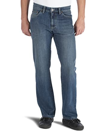 Camel ... active Men's Woodstock Straight Leg Jeans Blau Medium ... Camel 645cb4