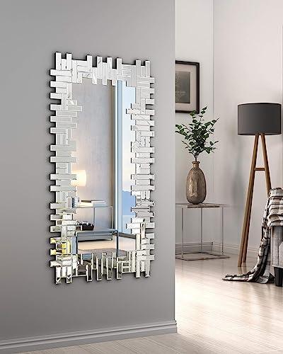 KOHROS Art Decorative Wall Mirrors Large Grecian Venetian Mirror