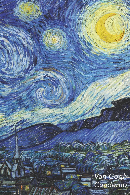 Van Gogh Cuaderno: La Noche Estrellada - Vincent van Gogh | Elegante y Practico | Libreta Para Escribir | Para Tomar Notas (Cuadernos Para Escribir)