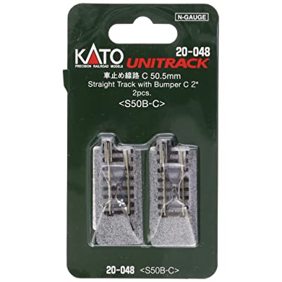"Kato KAT20048 N 50mm 2"" Bumper, Type C (2): Toys & Games"