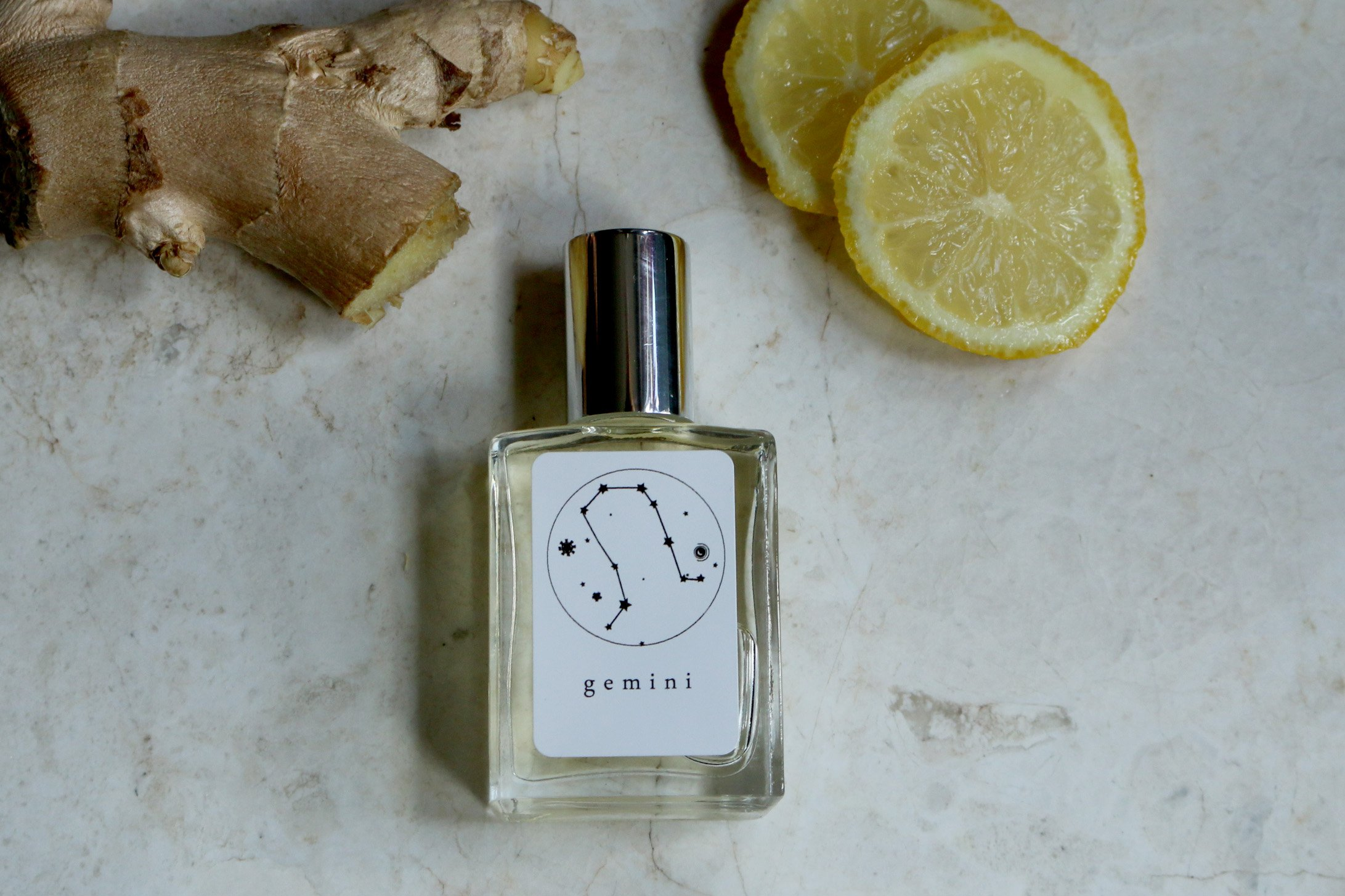 Gemini Zodiac Perfume and Essential oil Fragrance by Intuitive Essence