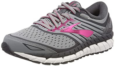 5ad4f9fb6b0 Brooks Women s Ariel  18 Grey Grey Pink 6 B US