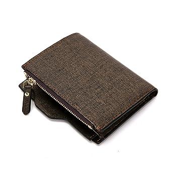 97b73d74ebcc Wallet for Men, Wallet Men Leather RFID Bifold Front Pocket Money ...