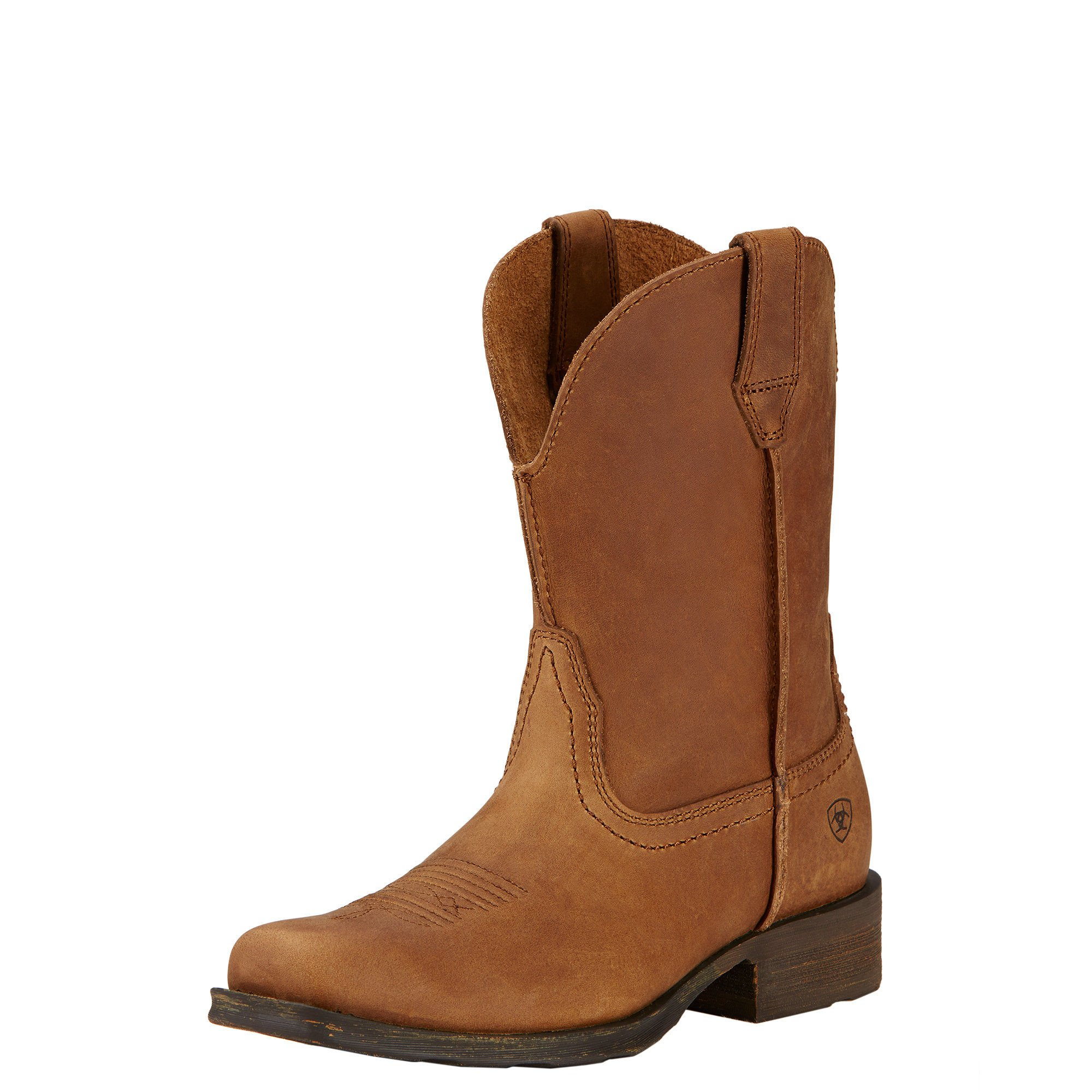 Ariat Women's Rambler Western Cowboy Boot, Dusted Brown, 9 B US