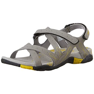 Kamik Women's Bali Athletic Sandal, Light Grey, 6 M US | Flats