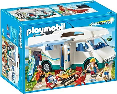 Playmobil 6671 - Familien-Wohnmobil