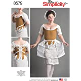 Simplicity Patterns Misses' 18th Century Costume Pattern, D5 (4-6-8-10-12)