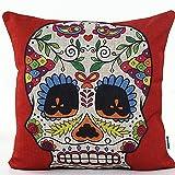 Decorbox 4 PCS 18'' Retro Colorful Floral Mexican