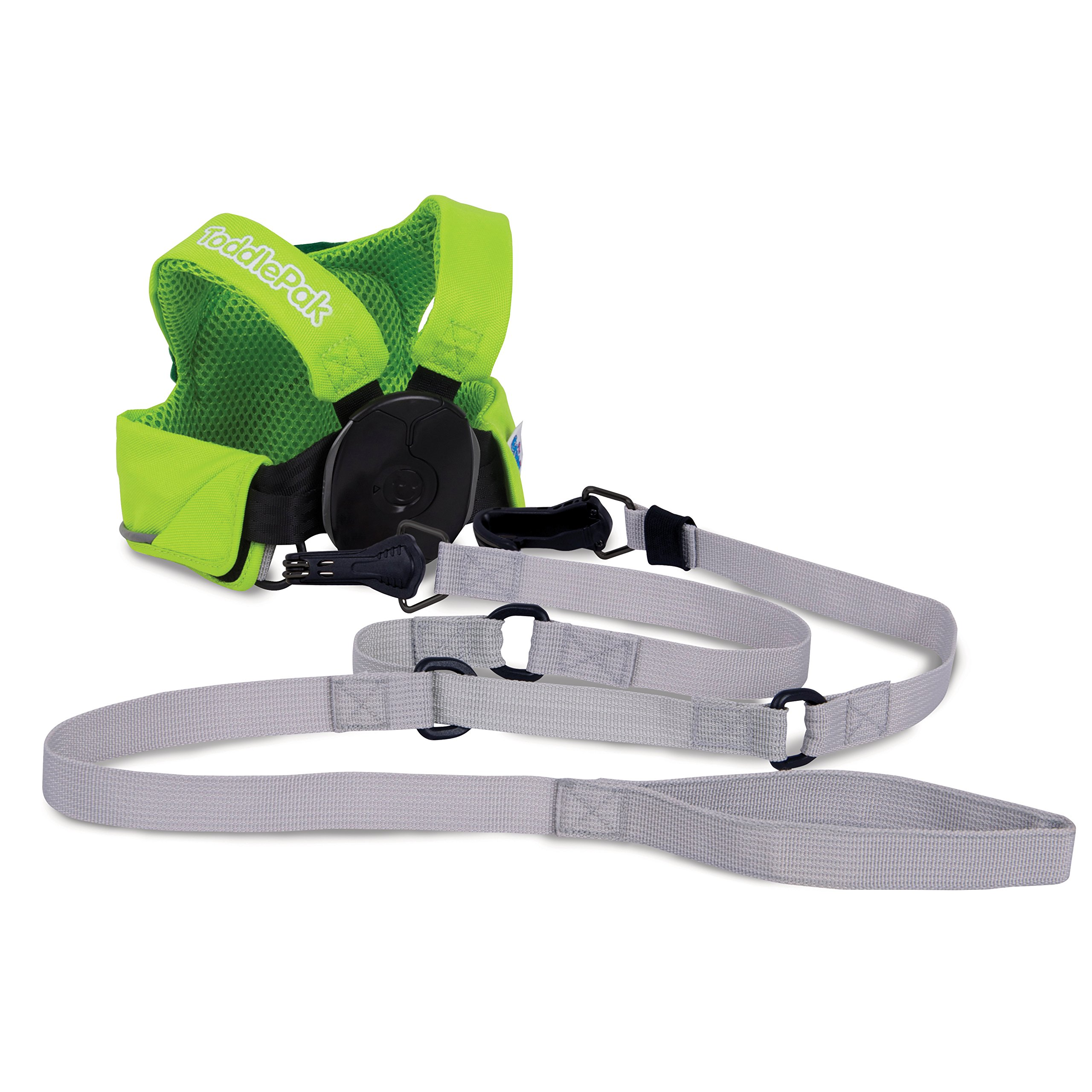 Trunki ToddlePak - Fuss Free Toddler Walking Leash & Kid's Safety Harness – Dudley Dinosaur (Green) by Trunki (Image #2)