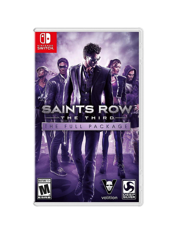 Saints Row - The Third for Nintendo Switch [USA]: Amazon.es: Thq ...