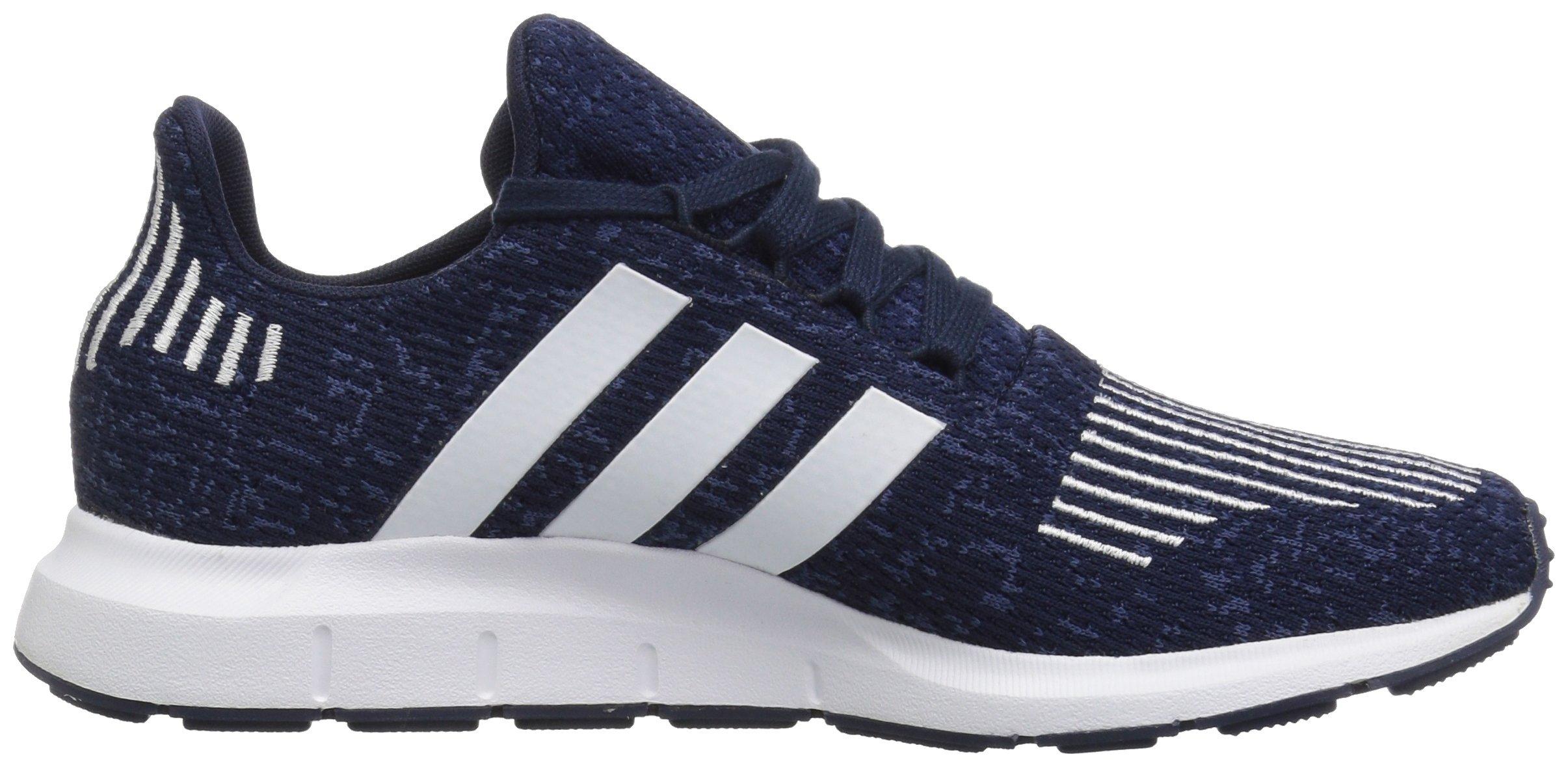 adidas Originals Baby Swift Running Shoe, Collegiate Navy/White/Mystery Blue, 4K M US Toddler by adidas Originals (Image #6)