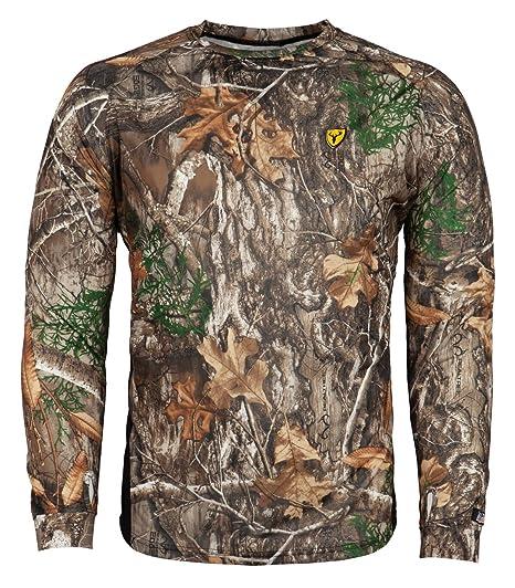 949d76f19bda8 Amazon.com: Scent Blocker 8th Layer Long Sleeve Shirt, Realtree Edge ...
