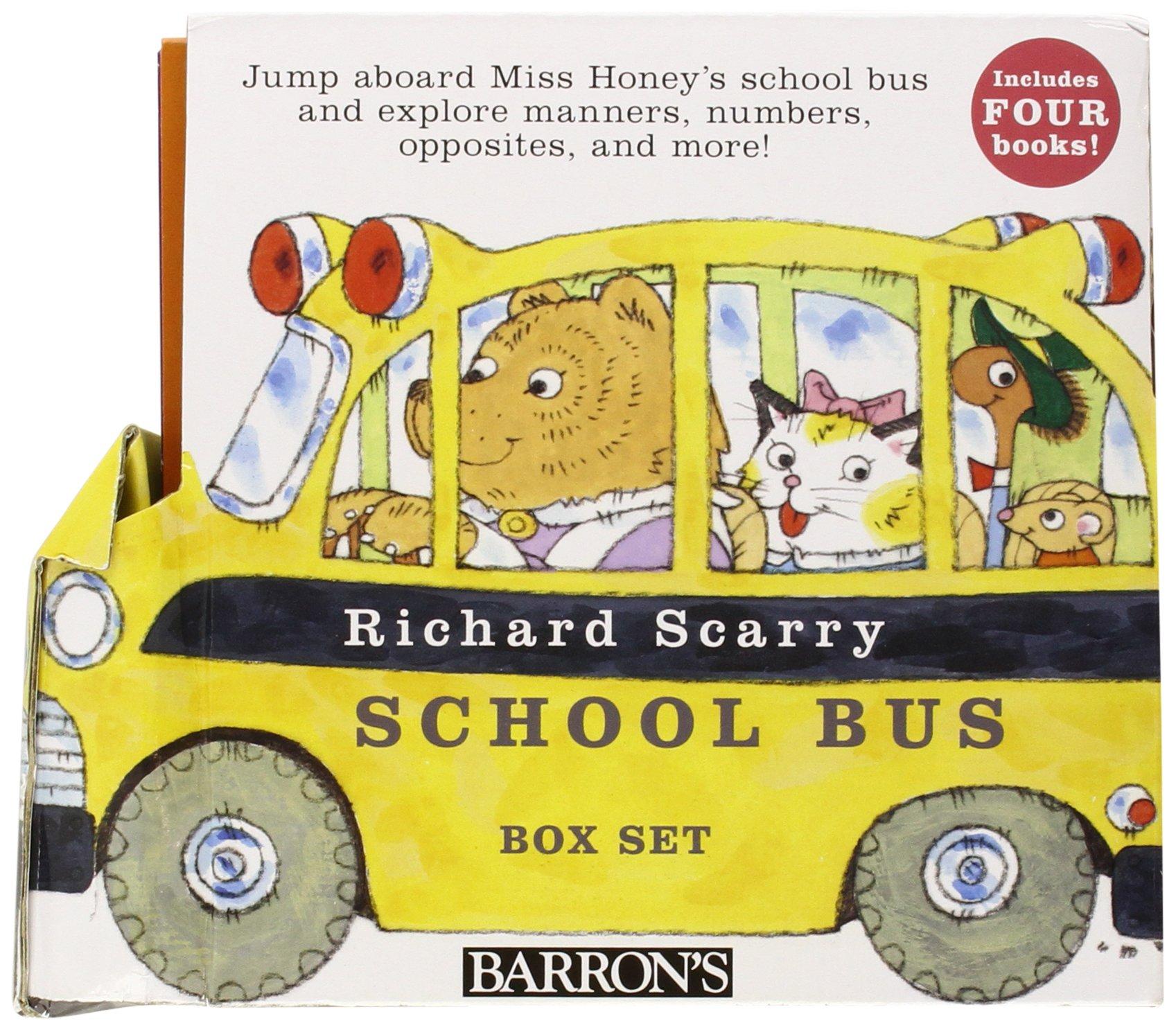 Richard Scarrys School Bus Box Set