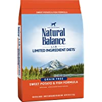 Natural Balance Limited Ingredient Diets Dry Dog Food - Sweet Potato & Fish Formula