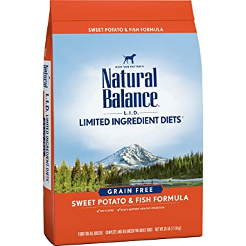 Natural Balance Lid Sweet Potato Fish Formula Grain Free Dry Dog