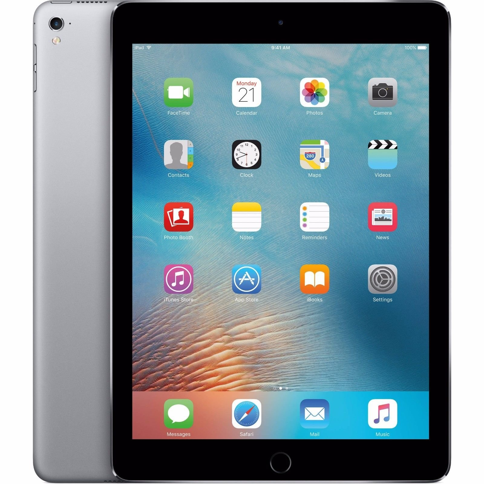 Apple iPad Pro Tablet (32GB, Wi-Fi, 9.7'') Space Gray (Certified Refurbished)