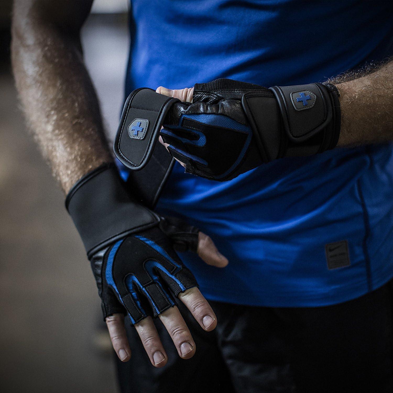 Harbinger da Polso da Uomo Sollevamento Pesi Colore: Nero Guanti s per Allenamento