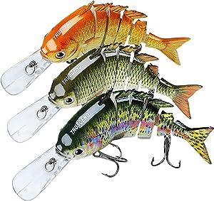 "TRUSCEND 2-4"" Segmented Fishing Lures"