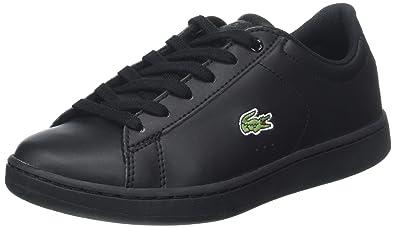 51445f2b11 Lacoste Carnaby Evo 118 4 SPJ, Baskets garçon: Amazon.fr: Chaussures ...