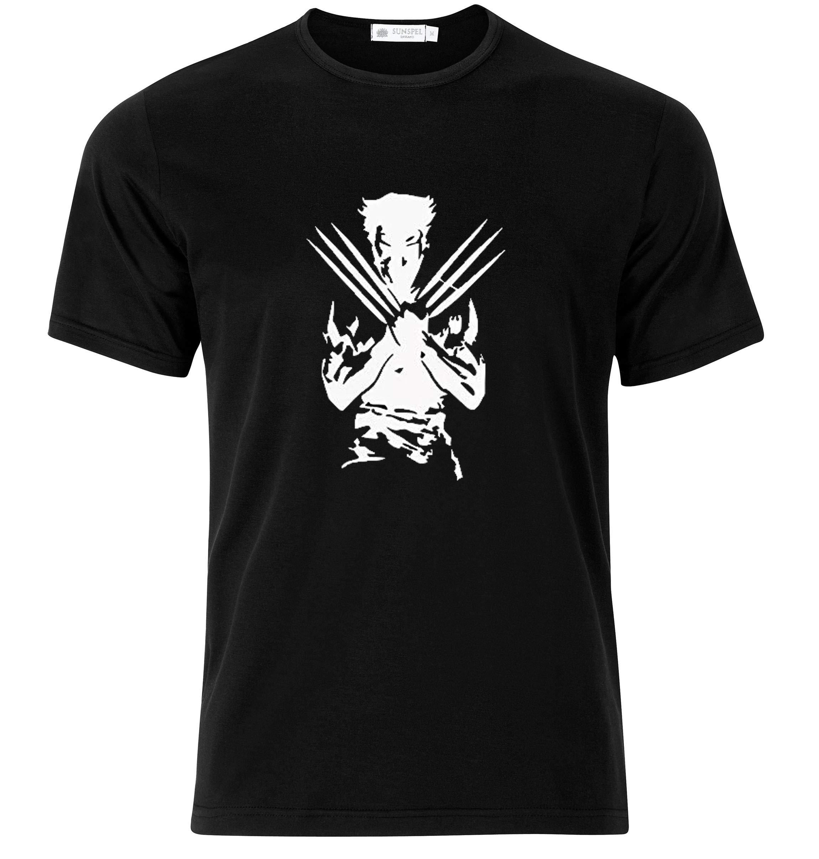 Bonus Creation Comics X Logan Wolverine T Shirt Modern T Shirt 1434