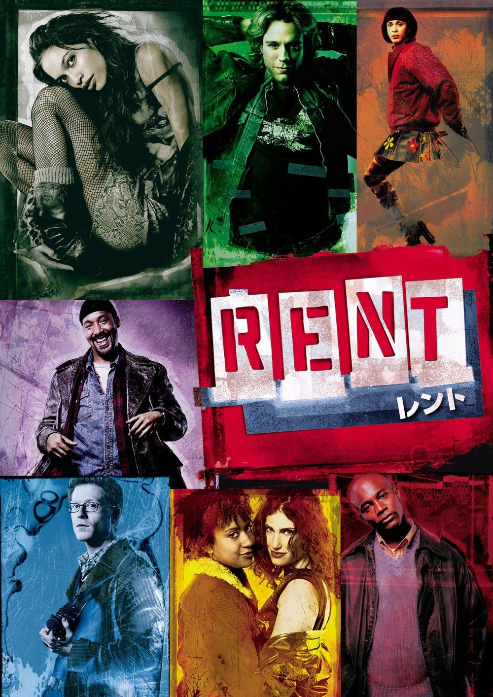 洋画で人気のおすすめミュージカル映画ランキング19位「RENT」
