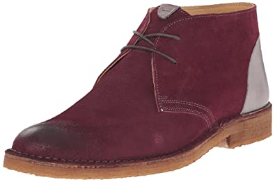 Kenneth Cole New York Men's Magic Number Chukka Boot, Wine, ...