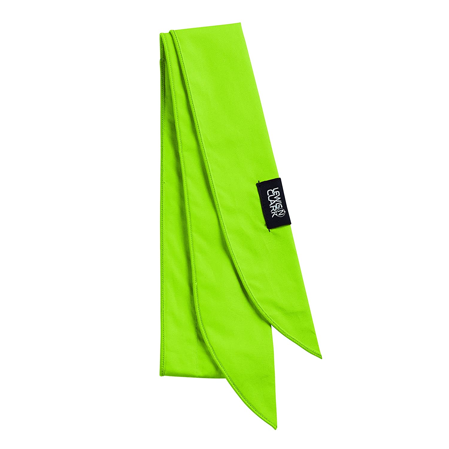 Lewis N. Clark Iceman Ice Scarf, Lime, One Size 9302LIM