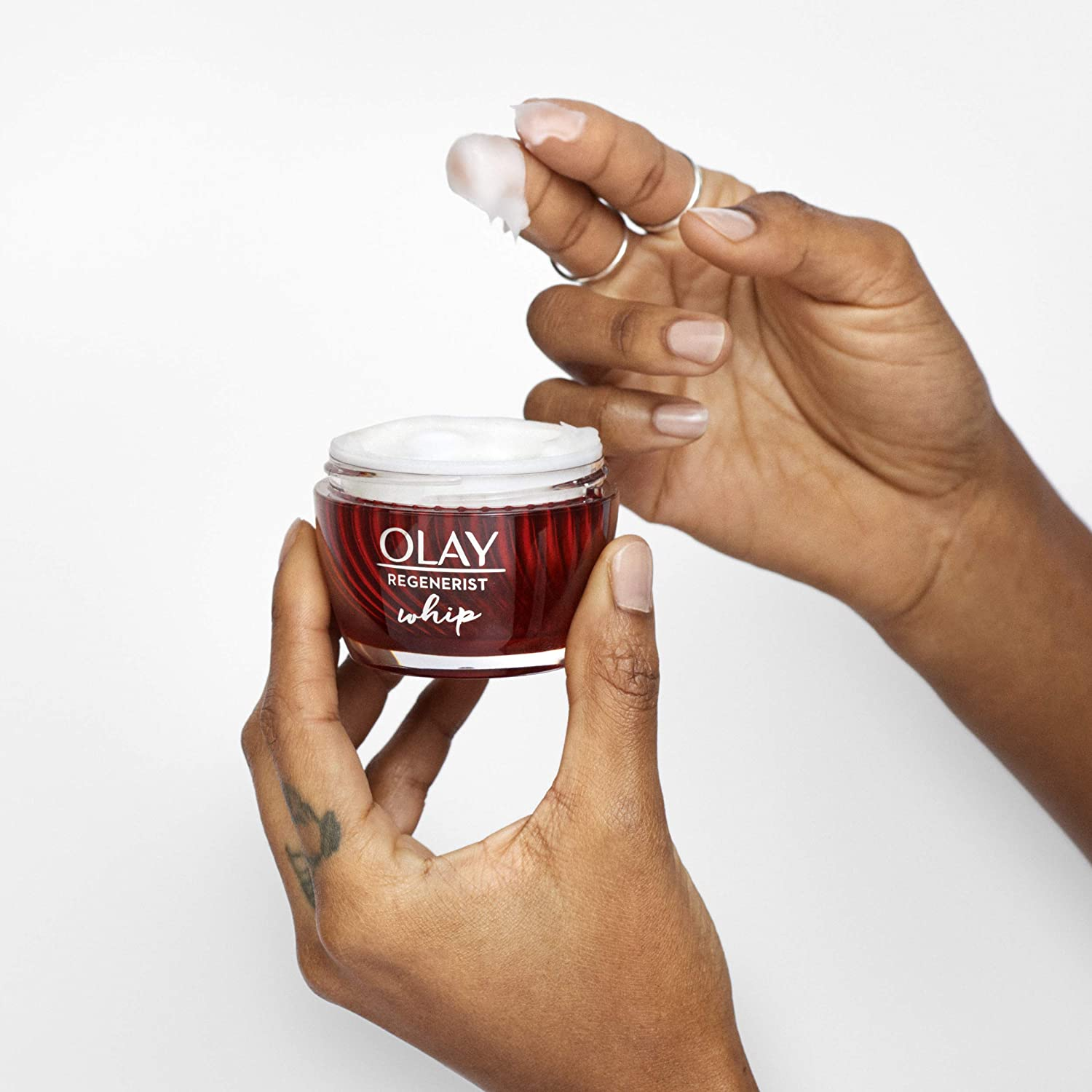 Olay Regenerist Whip Face Moisturizer with Hyaluronic Acid, 1.7 oz: Industrial & Scientific