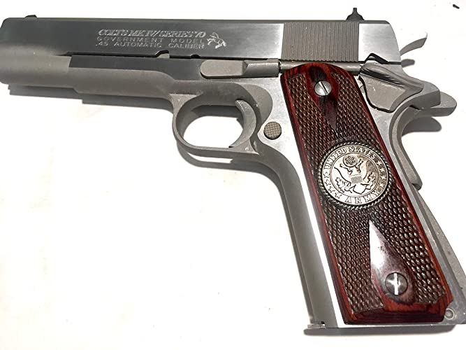 1911 GRIPS,ARMY,SALE $39 88,FITS  COLT,RUGER,TAURUS,KIMBER,SIG,PARA,SPRINGFIELD,REMINGTON,S &  W,WILSON,ACE,THOMPSON,ITHACA,RI