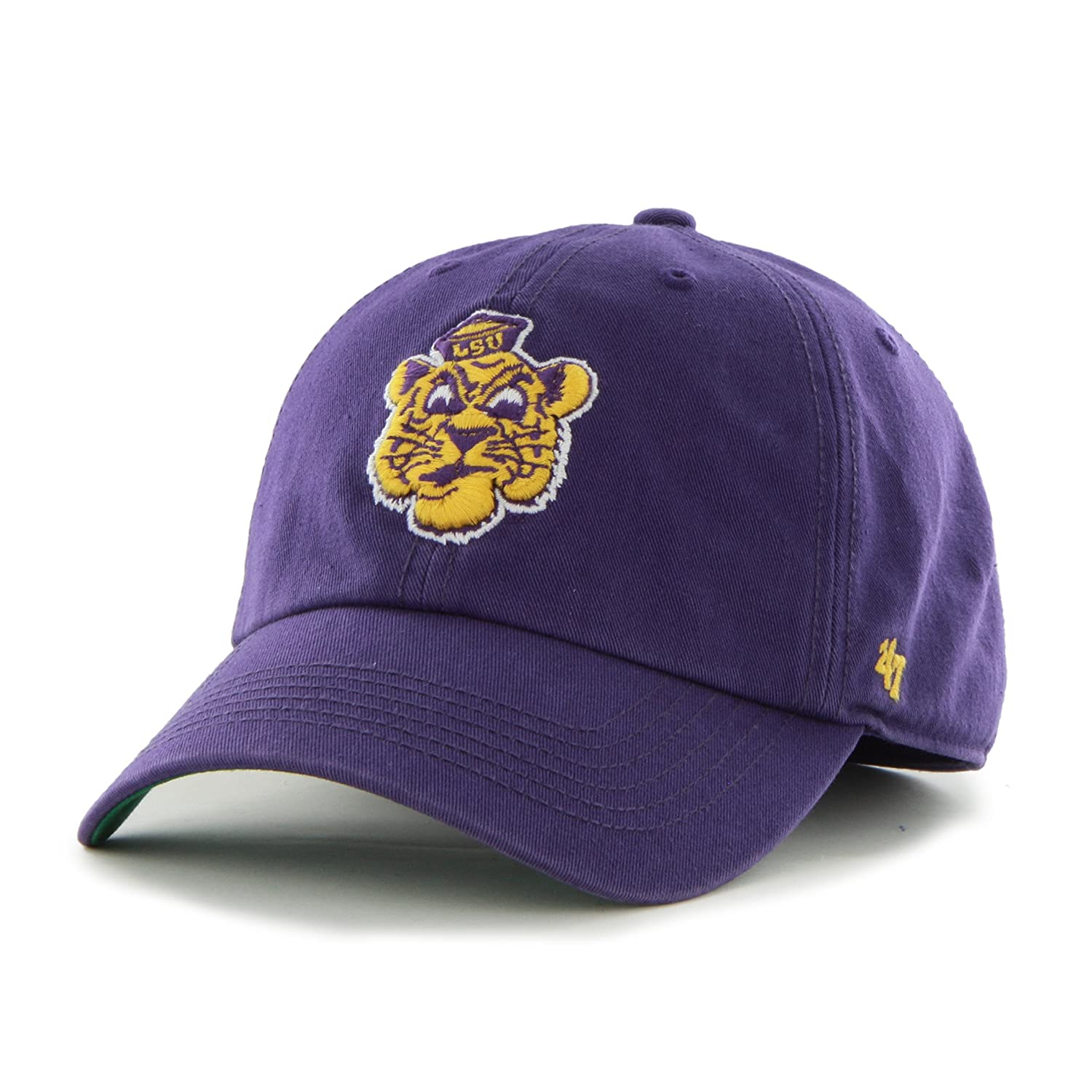 X-Large 47 NCAA Lsu Tigers Franchise Fitted Hat Purple 2