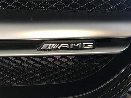 N//A Griglia del paraurti Anteriore con Logo AMG Diamond per Mercedes Benz Mini Logo AMG A B C Classe E W176 W246 W204 W205 W212 W213
