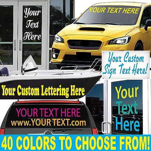 custom window decals for cars amazon com